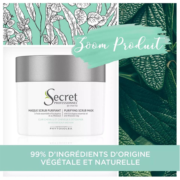 MASQUE SCRUB PURIFIANT SECRET PROFESSIONNEL